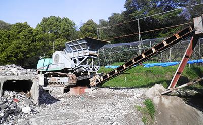 改良土製造施設